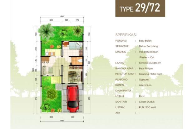 Rp258jt Rumah Dijual