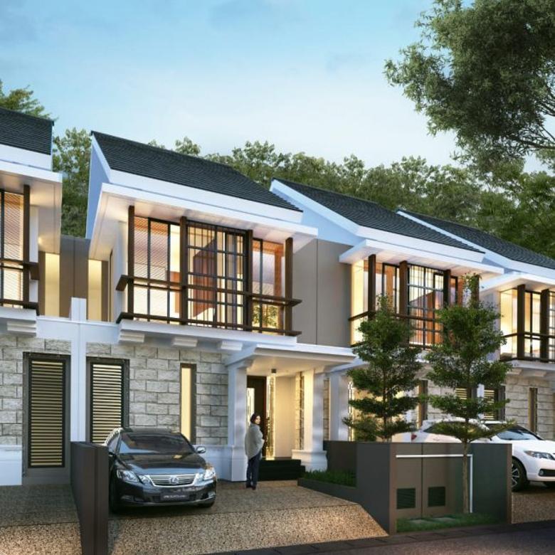 town house modern kebayoran baru
