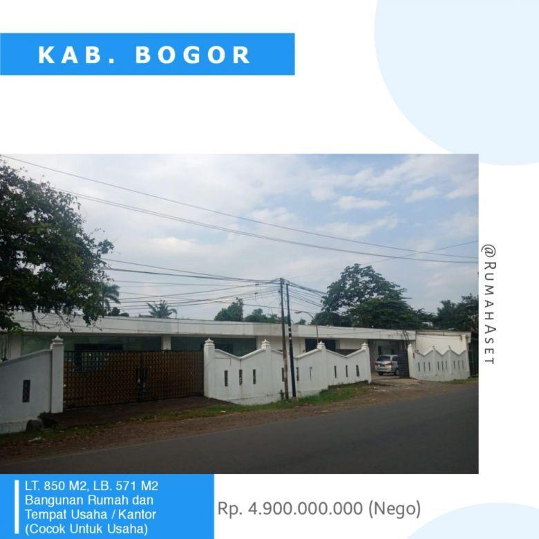 Dijual Rumah Kantor/Toko Rukan/Ruko di Cibinong, Bogor