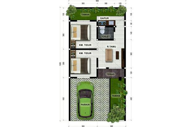 Rp183jt Rumah Dijual