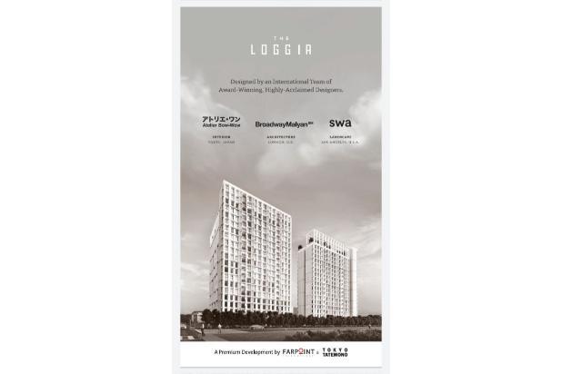 Rp22,5jt Apartemen Dijual