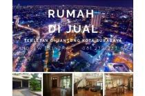 [SANGAT AMAT SUPER STRATEGIS] Rumah SIAP HUNI Di titik 0 JANTUNG Surabaya