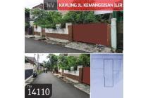 Kavling Jl Kemanggisan Ilir, Palmerah, Jakarta Barat, 11x40,8m