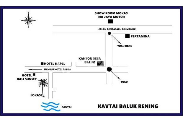 Kavling Pantai Siap Bangun Hotel dan Villa 5896592