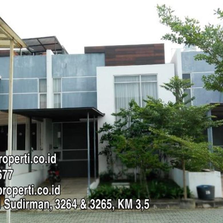 Rumah Minimalis 2 Lantai Di Palembang  dijual rumah 2 lantai dalam komplek elit the spring kenten city palembang