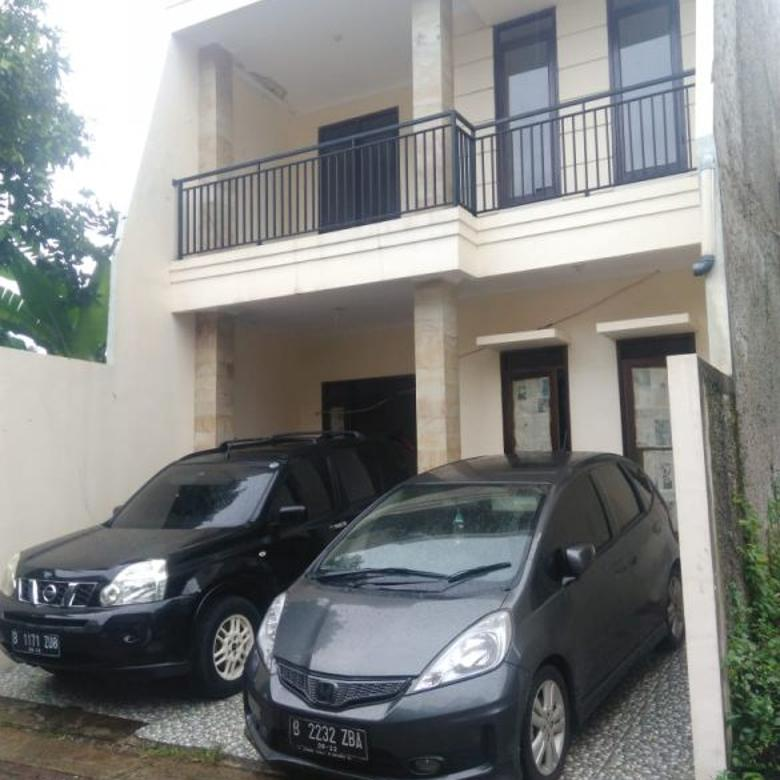 Rumah di Limo, Baru, 2Lt dlm Cluster di Kawasan Megapolitan