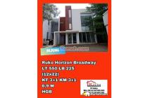 Dijual Ruko Horizon Broadway multi fungsi di BSD