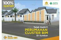 Perumahan Cluster Baru dekat Bandara BIM Kota Padang SUMBAR