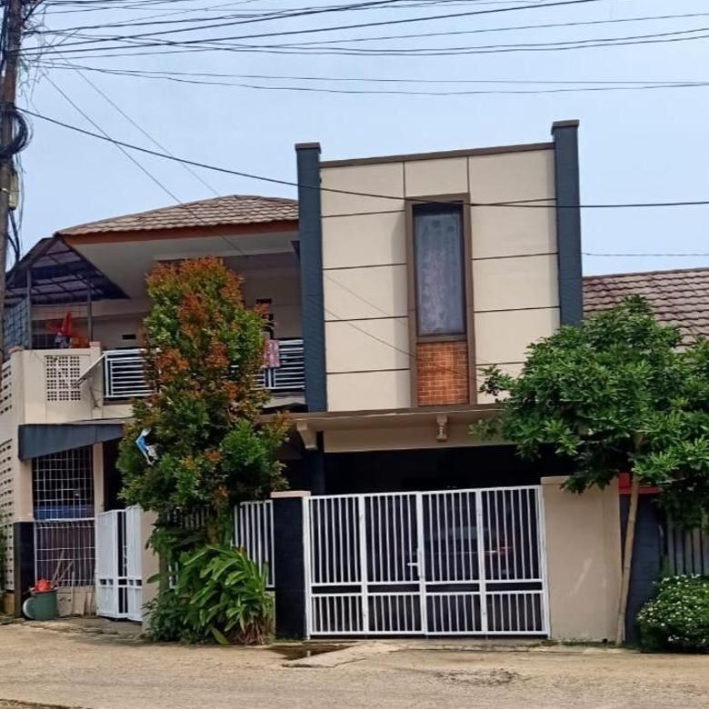 Rumah 2 Lantai Pinggir Jalan Sukatani Tapos
