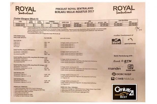 Dijual Tanah Kavling Minimalis di Perumahan Royal Sentraland Makassar 15037084