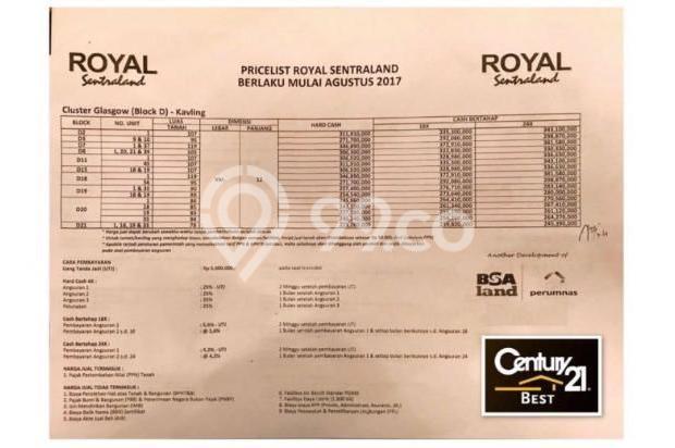 Dijual Tanah Kavling Minimalis di Perumahan Royal Sentraland Makassar 15037088