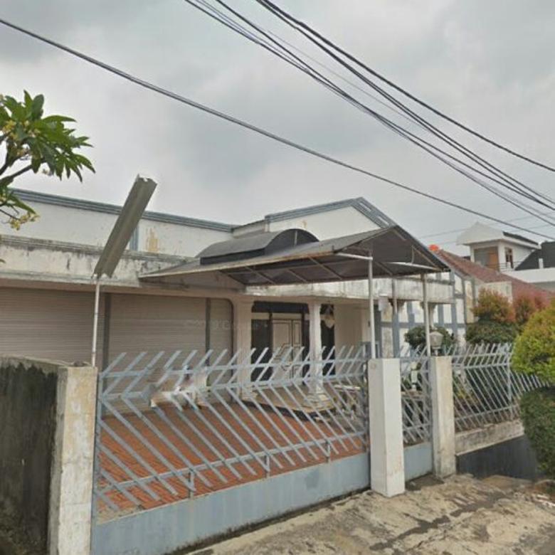 Dijual Rumah Lama Di Cinere, Lingkungan Tenang, Jalan Lebar
