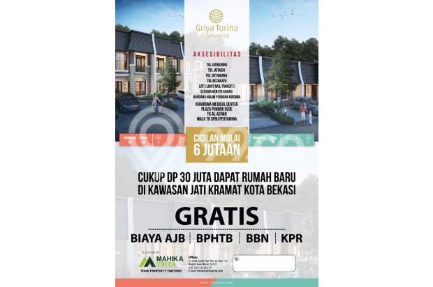 Dijual Rumah DP Murah 30 Juta FREE SEMUA BIAYA Di Jati Asih 15145180