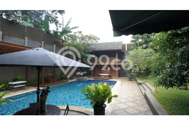 Rumah Cantik Siap Huni Berfasilitas Kolam Renang 5x15 m di Bintaro 15038029