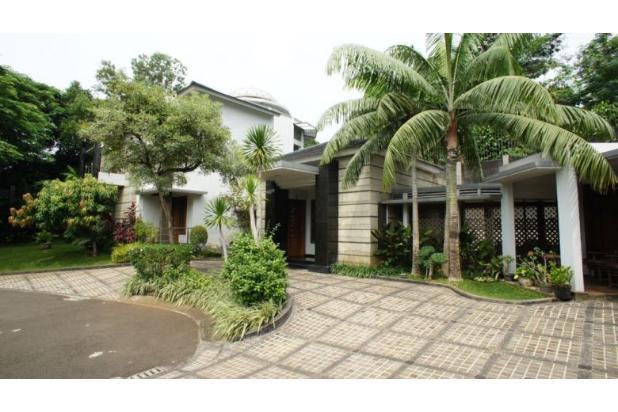 Rumah Cantik Siap Huni Berfasilitas Kolam Renang 5x15 m di Bintaro 15038030