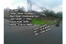 Tanah SHM Main Road Cihanjuang