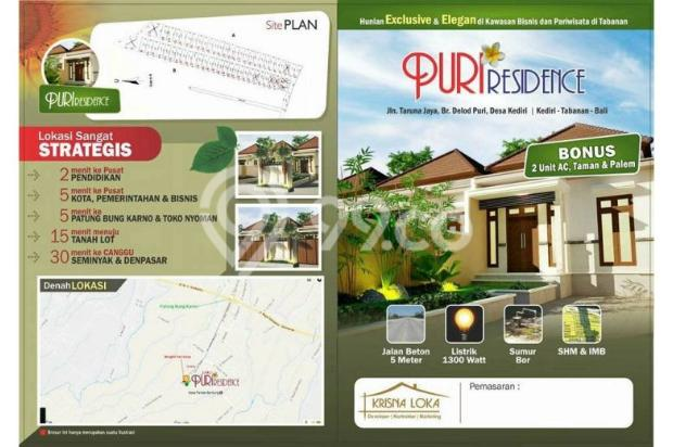 Rumah Murah Konsep Semi Villa DP Kecil KPR Pasti Deal 11136459