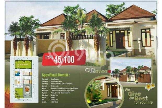 Rumah Murah Konsep Semi Villa DP Kecil KPR Pasti Deal 11136464