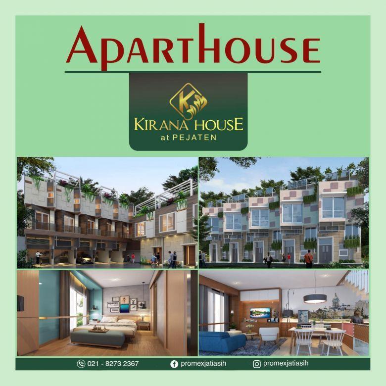 Hunian dengan Konsep Aparthouse Pejaten Jakarta Selatan