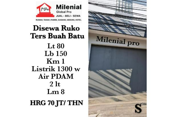 Rp5,6mily/thn Ruko Disewa