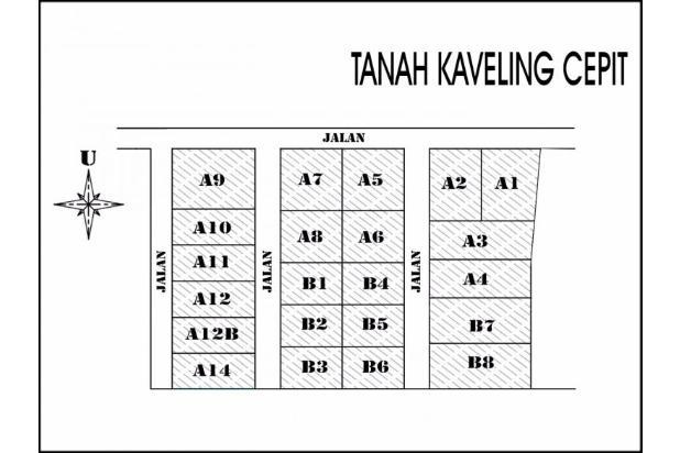 Tanah Kaplingan Model Perumahan, Harga 1.8 Jt-an 14417426