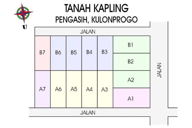 Jual Tanah Kavling Pusat Kota Wates : Buy Back Guarantee, PROFIT 25 % 17711425