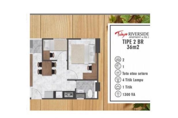 Rp532jt Apartemen Dijual
