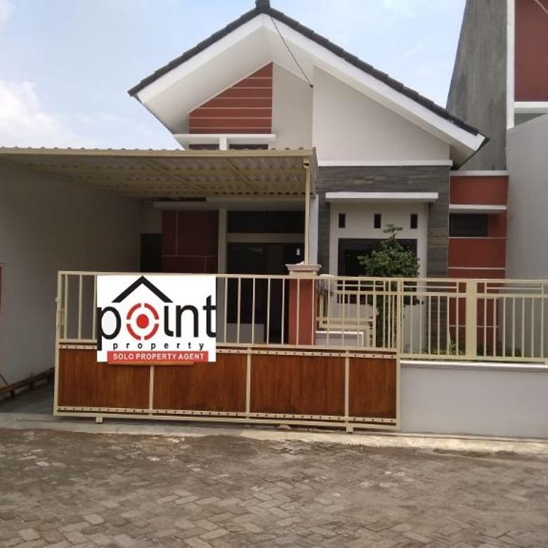 Rumah Baru 139m2 Bagus Di Gentan