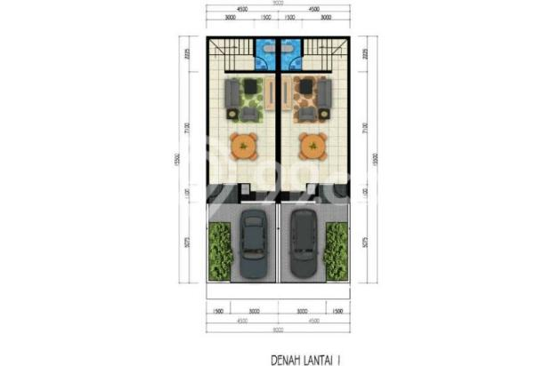 Dijual 2 Unit Rumah Baru@ Asia Baru - GreenVille Rp 1,7 M 8763753