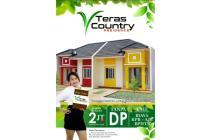 Perumahan TANPA DP Teras country bojonggede