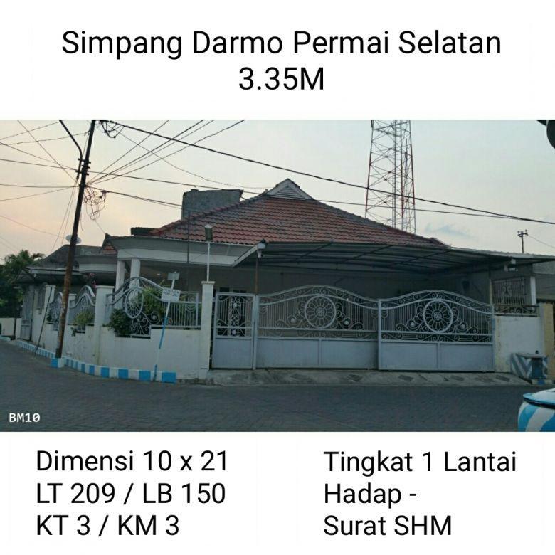 Rumah Siap Huni Simpang Darmo Permai Surabaya Barat