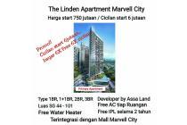 the linden apartemen marvel city ngagel nginden siap huni baru