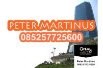 DIJUAL OFFICE SPACE APL TOWER 223sqm SEMI FURNISHED FULL MARBLE FLOOR
