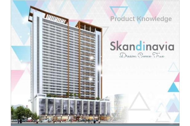 Dijual Apartemen 1BR Strategis di Skandinavia TangCity Tangerang