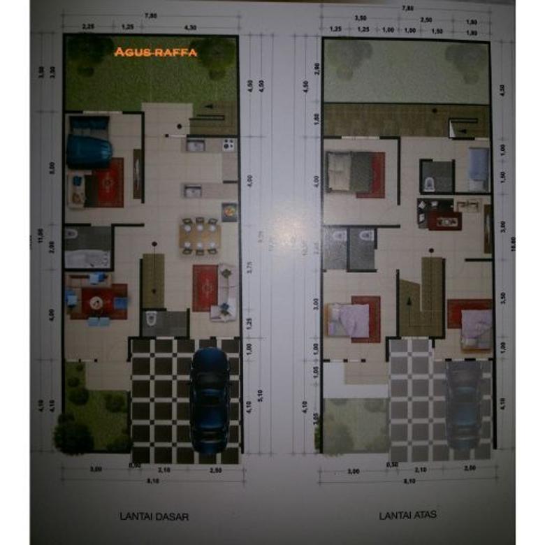 Rumah diJagakarsa 1.Dalam Cluster Baru Indent Tahap Pembagunan.Strategis