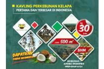 Tanah Dijual Menguntungkan dan murah di Cianjur Kavling Green Coco