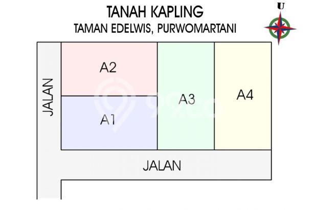 Sertifikat SHM, Angsuran 12 X TANPA Bunga: Purwomartani Kalasan 16359163