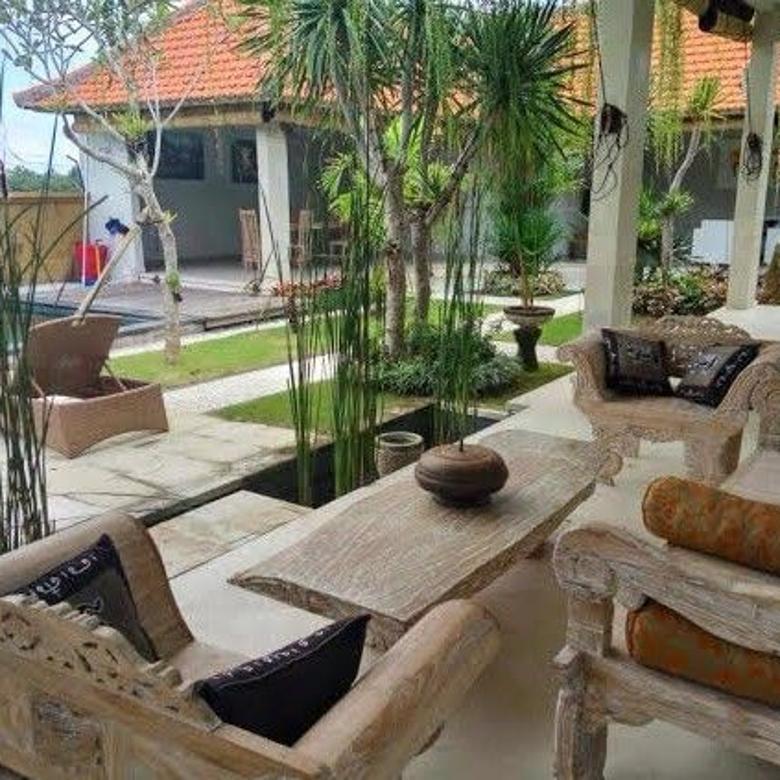 Dijual Murah Villa Baru Siap Huni di Jalan Cempaka Pererenan Canggu Bali