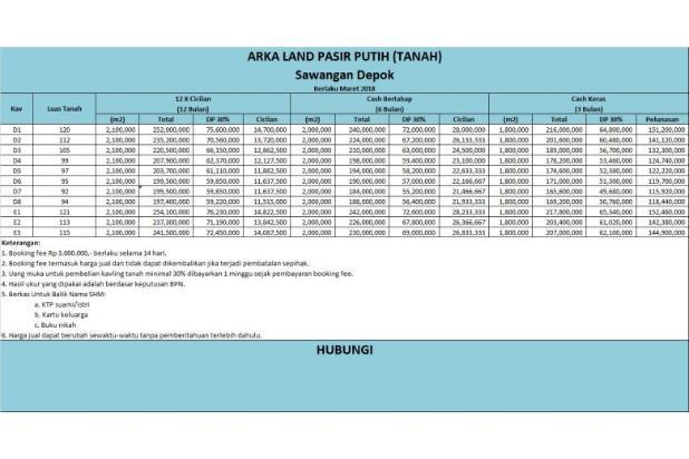 Jangan Kredit Bank, Angsur Tanah 12 Bulan Langsung ke Kami 16578132