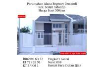 Rumah Baru Murah Alana Regency Cemandi Sedati Sidoarjo