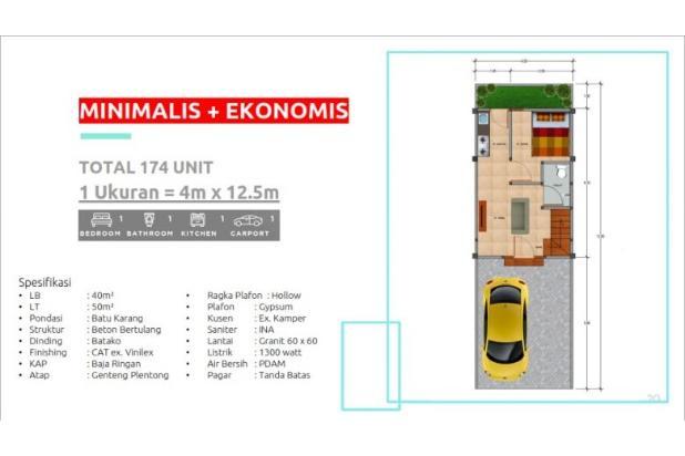 Rp465jt Rumah Dijual