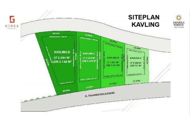 Rp57,6mily Tanah Dijual