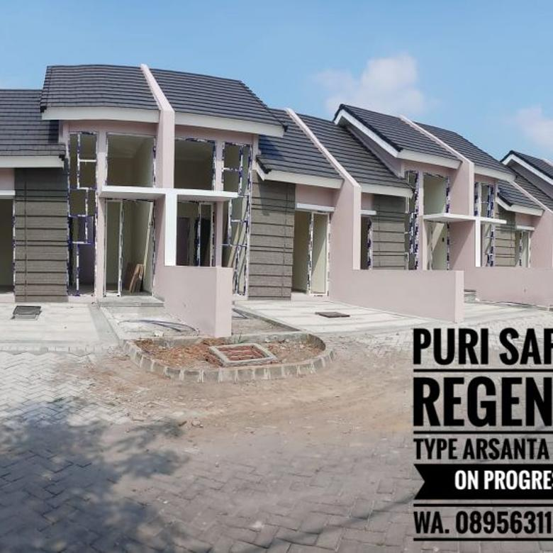 Type arsanta 36/60 ready unit puri safira regency