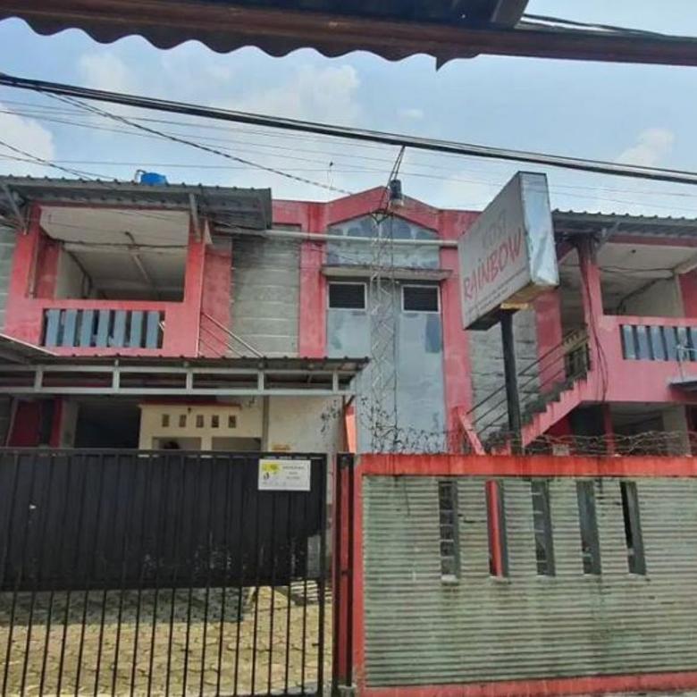 Rumah Kost Strategis 80 Kamar Belakang Kampus Gunadharma Kelap