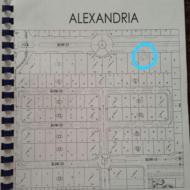 Tanah Dijual Kavling ~~Wisata Bukit Mas 1 Alexandria