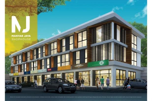 DIJUAL RUKO BARU 3 LT  Di Raya Manyar Jaya. 12274050