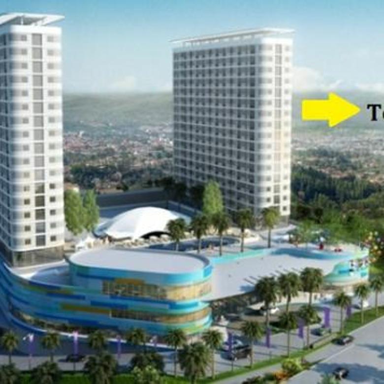 Apartemen dengan Fasilitas Mall tipe 2 BR