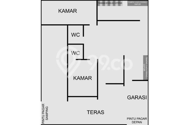 Rumah Siap Huni Posisi Hook, Pesona Cisaranten Indah 15033793