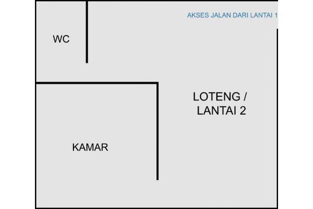 Rumah Siap Huni Posisi Hook, Pesona Cisaranten Indah 15033794