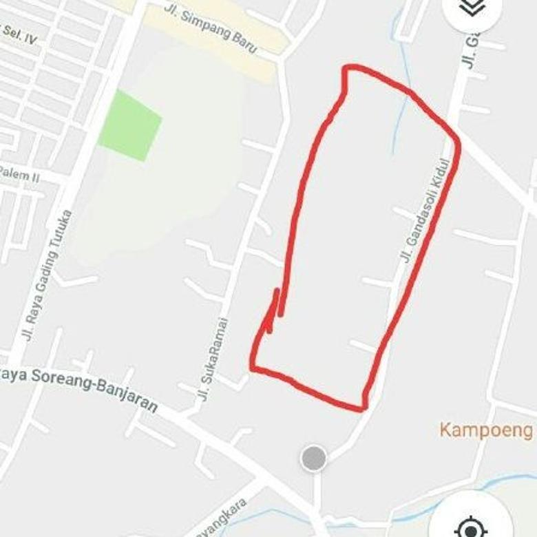 Dijual Tanah di Soreang 24.000m, 2,4 hektar harga murah 1jt/m